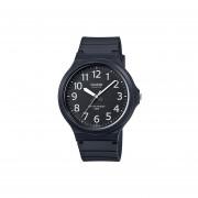 Reloj Casio MW240 1B Negro con Blanco