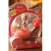 Barbie Peek A Boo Petites: Fashionistas Sandal Sally #64 Shoe Mini Doll By Mattel