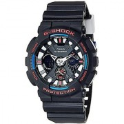 Casio G-Shock Analog-Digital Black Dial Mens Watch - GA-120TR-1ADR (G656)