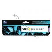 Мастило HP 980, Yellow, p/n D8J09A - Оригинален HP консуматив - касета с мастило