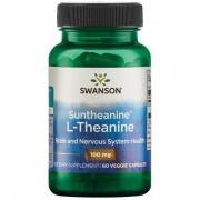 Swanson L-Teanina Suntheanine 100 mg 60 kapsułek