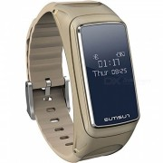 Measy Smart Bracelet? Fitness Sport Watch w/ Pedometer? Heart Rate Monitor for IOS Android - Golden