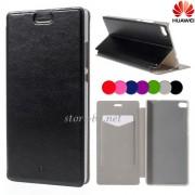 Huawei Ascend P8 Wallet Кожен Калъф и Протектор