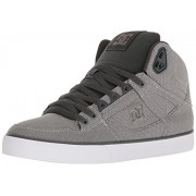DC Men's Spartan High WC TX SE Skateboarding Shoe, Grey Ash, 16 D US