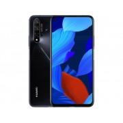 HUAWEI Nova 5T Smartphone 128 GB 6.26 inch (15.9 cm) Dual-SIM Android 9.1 48 Mpix, 16 Mpix, 2 Mpix, 2 Mpix Zwart