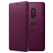 Sony Xperia XZ3 Style Cover Stand SCSH70 - Bordeaux Vermelho