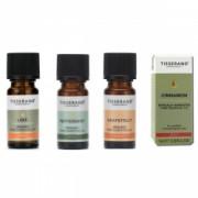 Uleiuri esentiale pentru Sindromul Metabolic 100 pure ulei de Menta Lime Scortisoara Grapefruit de la Tisserand Aromatherapy Set 4 buc
