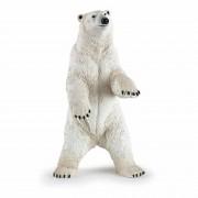 Papo Plastic staande ijsbeer speeldiertje 7 cm
