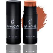 GlamGals Matte Finish Stick Foundation 30 ml Brown