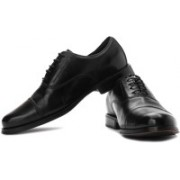 Clarks Dino Boss Genuine Leather Lace Up Shoes For Men(Black)