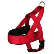 TRIXIE Premium Norwegian Dog Harness, 53 66 cm x 40 mm, Red