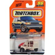 Matchbox 1999-96 of 100 Street Cleaner Series 20 on the Road Again 1:64 Scale