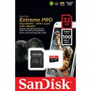 SanDisk MicroSDHC 32GB 100MB/s UHS-I
