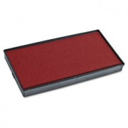 2000 Plus Replacement Ink Pad For Cosco Printer 50 Self Inking Stamp, Red Ink