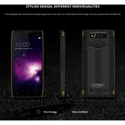 DOOGEE S50 Triple Proofing Phone, 6GB+64GB 5.7 Inch Network: 4G