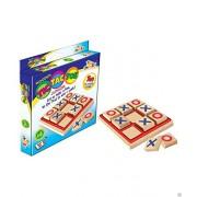 PRiQ Awals Wooden Tic Tac Toe Game