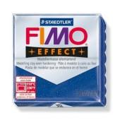 Gyurma, 56 g, égethető, Fimo Effect, csillámos kék (FM8020302)