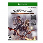 Xbox One Juego Middle Earth Shadow Of War Definitive Edition