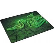 Mouse pad Razer Goliathus Control Fissure Edition, Medium (Negru/Verde)