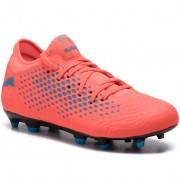 Обувки PUMA - Future 19.4 Fg/Ag Jr 105554 01 Red Blast/Bleu Azur