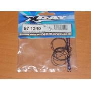 XRay 971240 T4 Gear Diff Sealing O-Rings (10)