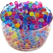 Kuhu Creations Supreme Colorful Water Absorbing Mud Soil Balls. (5 Small Bags Mix Color Bags)