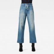 G-star RAW Femmes Jean Lintell High Dad Bleu moyen