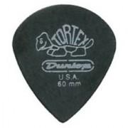 Dunlop 482R.60 Tortex Pitch Black Jazz III .60mm 72/Bag
