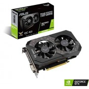 Asus TUF Gaming GeForce GTX 1650 Super Overclocked 4GB Edition HDMI DP DVI Gaming Grafikkarte (TUF-GTX1650S-O4G-GAMING)