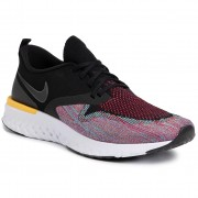 Обувки NIKE - Odyssey React 2 Flyknit AH1015 005 Black//Black/University/Red