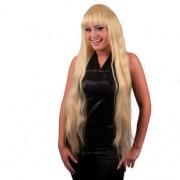 Peruca petrecere Elisa par foarte lung blond - Cod 57349