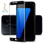 Folie Samsung Galaxy S7 Edge G935 Plastic PET 3D Full Cover Black