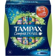Tampax Compak Pearl Super 18 Stk