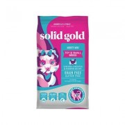 Solid Gold Mighty Mini Chicken, Chickpeas & Pumpkin Grain-Free Toy & Small Breed Dry Dog Food, 4-lb