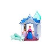 Boneca Disney Frozen Mini Castelo com Anna - Mattel