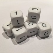 A Byte of Binary Dice (Pack of 8)