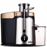 Сокоизстисквачка MUHLER MJ-550, 600W, 2 скорости+ Tурбо, Чаша за сок: 0.5 л, Инокс