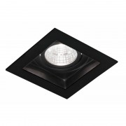 Blinq Cantello inbouw LED spot 90x90 mm vierkant zwart
