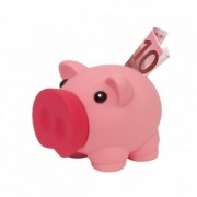 Pusculita Money Collector Pink
