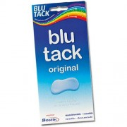 BluTack Blu-Tack Original - 240g Bostik Blu Tack. Ideal For Home, Office & School. Adhesive Putty. Reusable Adhesive.