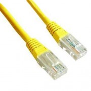 Cablu UTP Gembird Patch cord cat. 5E 1m Galben