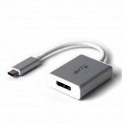 LMP USB-C to DisplayPort Adapter - адаптер за свързване от USB-C към DisplayPort (тъмносив)