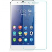 SCREEN CARE HD Crystal Clear Pro+ Anti-Scratch and Bubble free honor 6 Plus Screen Protector /Tempered Glass 20117 Make.