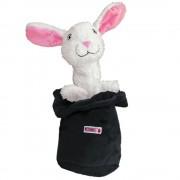KONG conejo en la chistera - blanco / negro