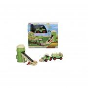 Tractor eco farm, juego de granja, Dickie