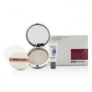 Moist Perfume Powder Pact (01 Shiny Pink) 14.5g/0.51oz + Mini Hyaluronic Acid Primer 2pcs Pudră Compactă Umedă Parfumată (01 Shiny Pink) 14.5g/0.51oz + Mini Bază Acid Hialuronic
