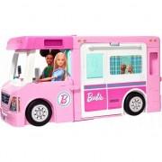 Set de joaca Barbie Rulota de vis 3 in 1 , cu 60 accesorii