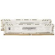Memorii Crucial Ballistix Sport LT White DDR4, 2x8GB, 2400 MHz, CL16