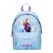 Disney Lichtblauwe Disney Frozen 2 Elsa en Anna rugzakken/rugtassen 31 x 22 cm reistas voor meisjes/kinderen