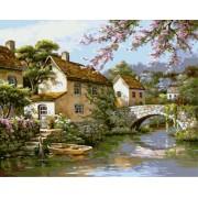 Gaira Malování podle čísel Kamenný most M1545